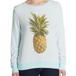 Wildfox Blue Pineapple Sweater